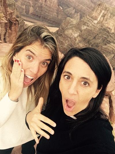 Natalia Spinelli y Albertina Gaiardo